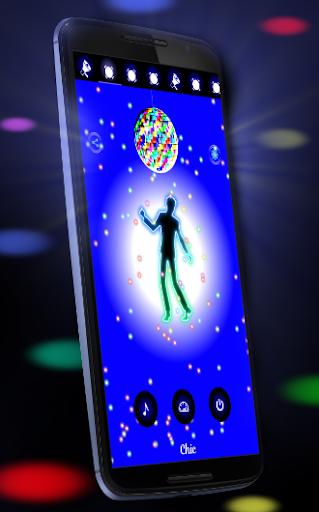 Disco Light: Flashlight with Strobe Light & Music screenshot 12