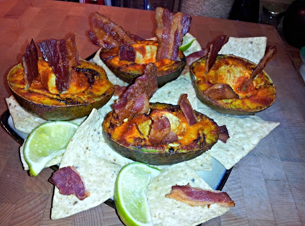Grilled Guacamole?          With Bacon Scoops! Recipe
