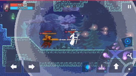 Moonrise Arena – Pixel Action RPG MOD APK [Unlimied Money] 4
