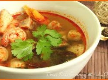 Hot And Sour Thai Soup Recipe