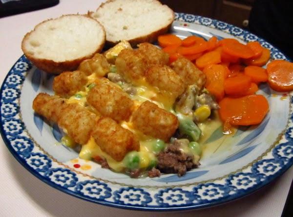 Moms Best Ever Tatertot Hotdish Recipe