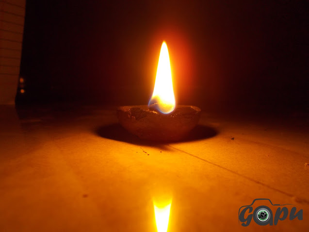 Diya on Diwali