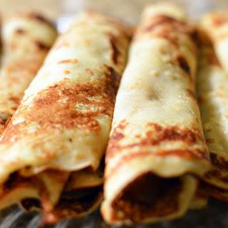 Panqueque Con Dulce De Leche (Dulce De Leche Crepes) Recipe