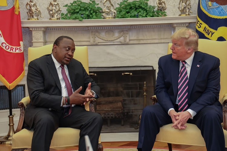 Uhuru defends trade deal with US, insists will not affect Africa pact