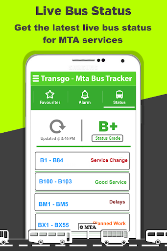 玩免費遊戲APP|下載NYC Bus Time Tracker (MTA) app不用錢|硬是要APP