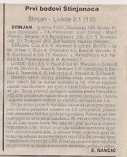 Photo: Glas Istre 16.10.2000. 6 kolo I ŽNL