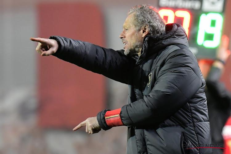 """Preud'homme retire un point de satisfaction : """"Le match à Arsenal nous a peut-être servis"""""""
