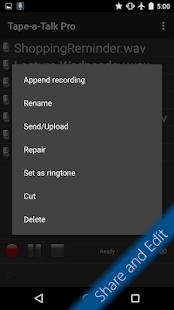Tape-a-Talk Pro Voice Recorder- screenshot thumbnail