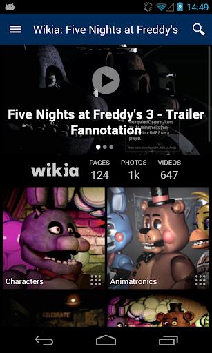 Wikia:弗雷迪餐厅的五个夜晚
