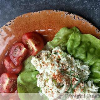 No-Bake Crab Salad Lettuce Wraps.