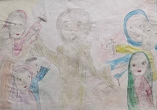 Photo: Praca konkursowa II Edycja, 2006 r. Justyna, lat 11. Wyróżnienie w kat. klas 4 - 6.