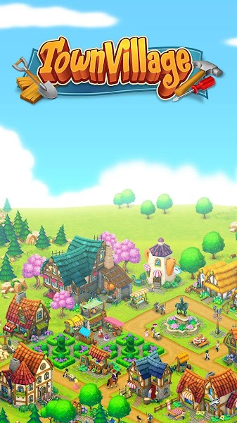 Town Village: Farm, Build, Trade, Harvest City v1.2.4 [Mod]