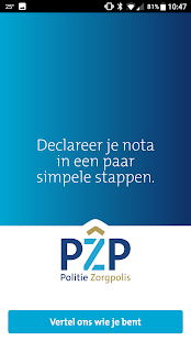 PZP Declareren- screenshot thumbnail
