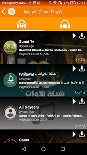 Islamic Cloud Player - náhled