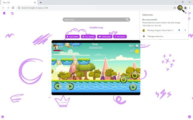 Monkey Kingdom Game New Tab