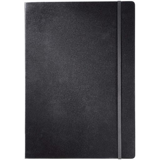 JOURNALBOOKS Executive Notebooks for Printing - Black