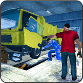 Snow Plow Truck Mechanic