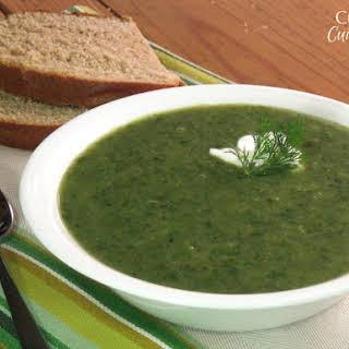 German Seven Herb Soup.