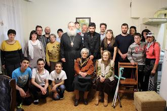 Photo: Стара Загора, обща снимка с вярващите от църковната община на БПСЦ в града, 13 май 2015 г.