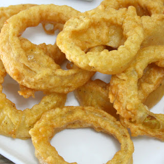 Gluten-Free Beer Battered Onion Rings
