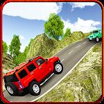 Offroad Jeep Hill Climb Drive Icon