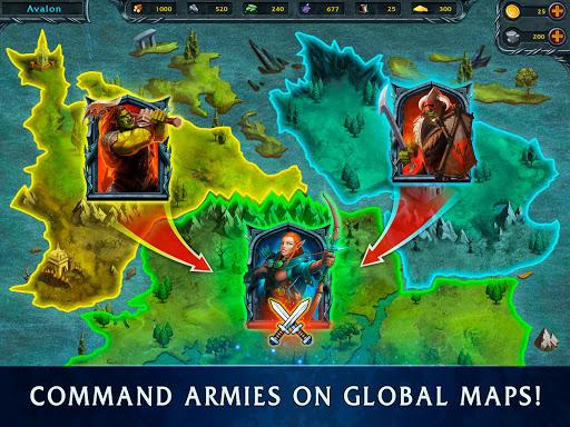 Heroes of War Magic.  Turn-based strategy 1.4.0.3 screenshots 11