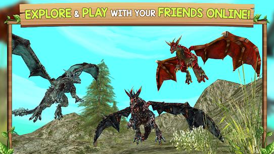 Dragon Sim Online Mod Apk : Be A Dragon 4