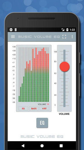 Music Volume EQ - Super Bass Booster & Equalizer Screenshot