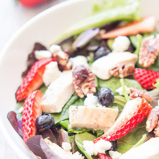 Sweet Strawberry Chicken Salad