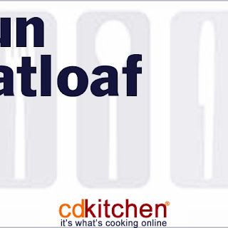Cajun Meatloaf.