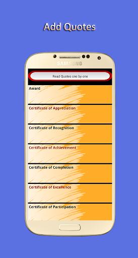 Certificate Maker 1.00.03 screenshots 4