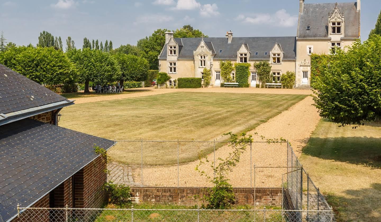 Château classé monument historique Le Mans