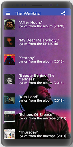 Download The Weeknd Lyrics Free For Android The Weeknd Lyrics Apk Download Steprimo Com