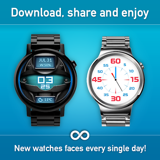 Download Watch Face - Minimal & Elegant for Android Wear OS MOD APK 4