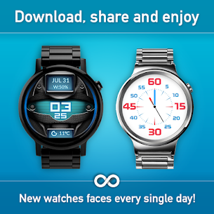Watch Face – Minimal & Elegant for Android Wear OS 4