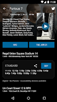 Screenshot of Regal Cinemas