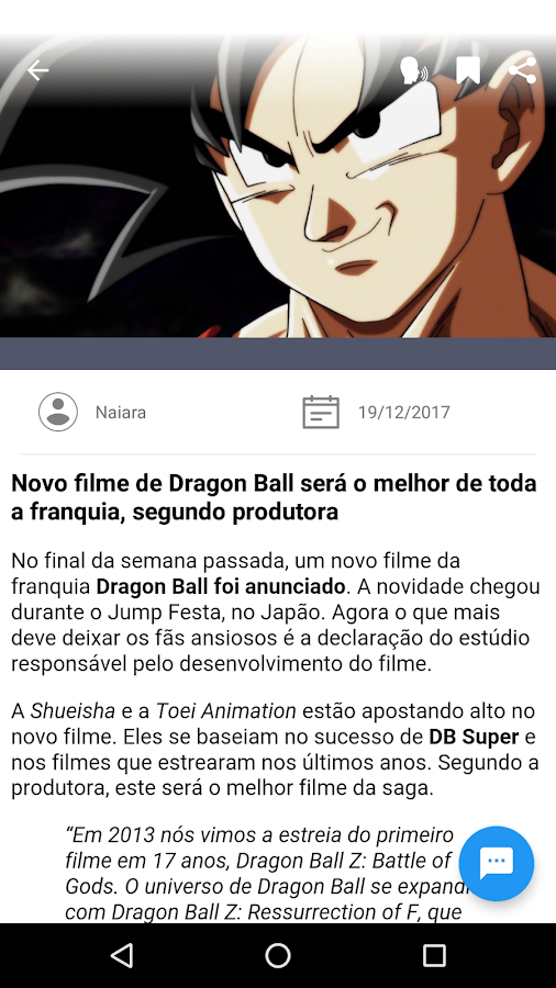 AnimeFans - Noticias de Animes- screenshot