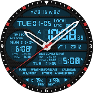 S02 WatchFace for Android Wear- screenshot thumbnail