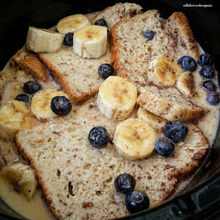 Slow Cooker Banana-Blueberry French Toast.