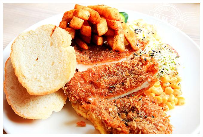 GO STAY-蜂蜜法式麵包豪華餐-香酥雞排