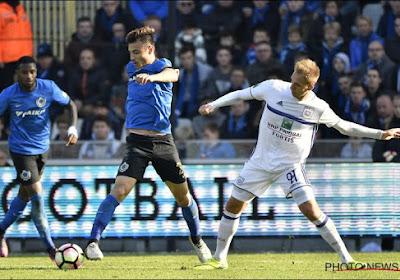 """Dion Cools (Club Brugge) grapt met Anderlecht-huurling Wout Faes: """"Als ze zo blijven spelen, haalt hij snel het vereiste niveau"""""""