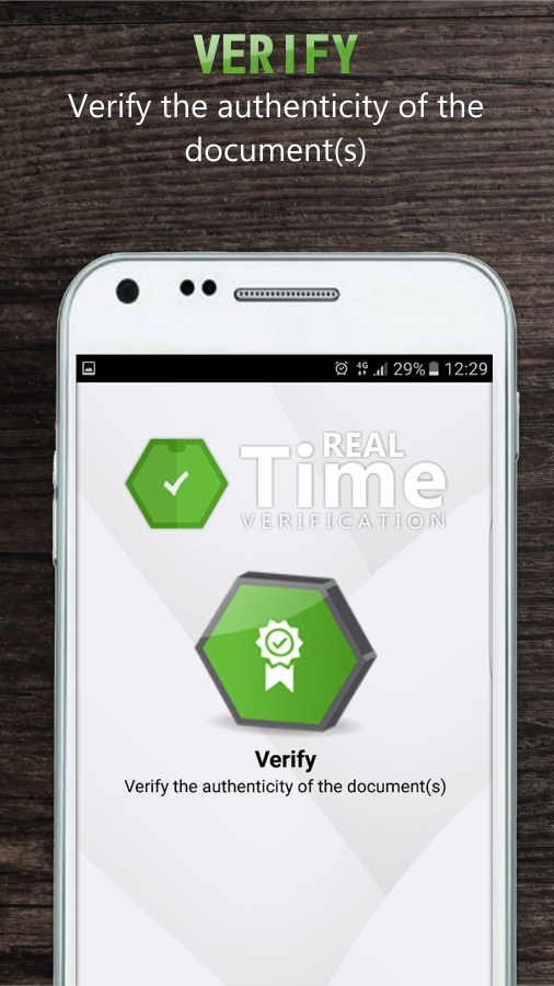 Realtime Verification- screenshot