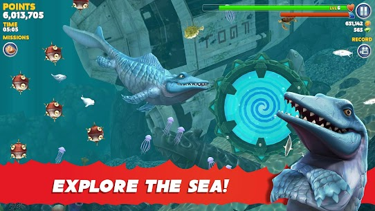 Hungry Shark Evolution Mod Apk 8.2.0 (Unlimited Money Coins + Dimond) 2