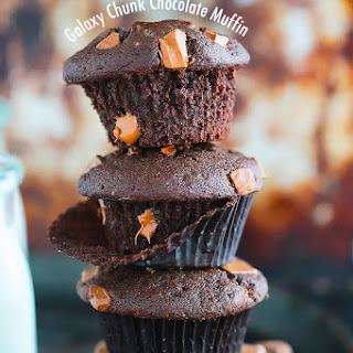 Galaxy Chunk Chocolate Muffins