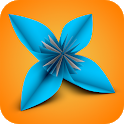 Origami Flower Instructions 3D icon