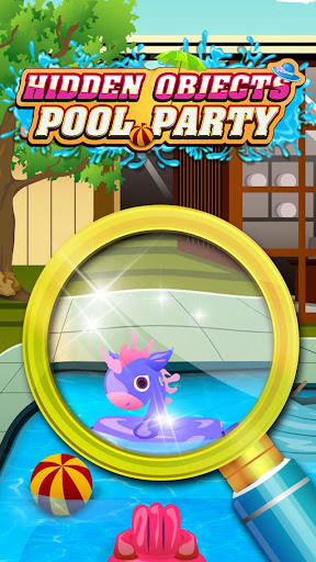 Hidden Object Pool Party