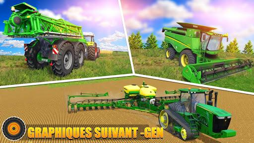 Code Triche Tracteur agricole pilote: village Simulator 2019 apk mod screenshots 6
