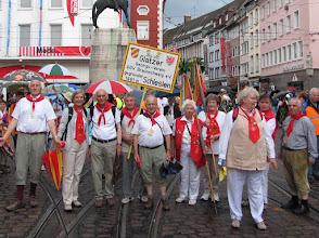 Photo: Nach dem Festumzug durch Freiburg