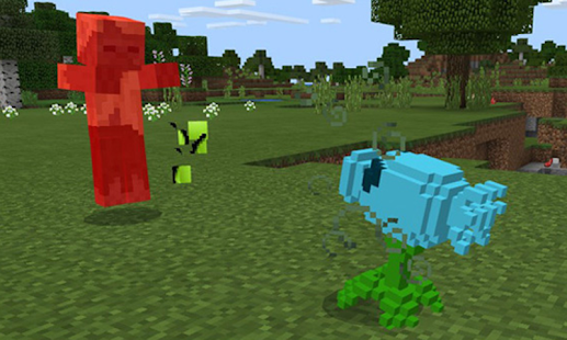 New Plantz vs. Mobz Mod for Minecraft MCPE - náhled