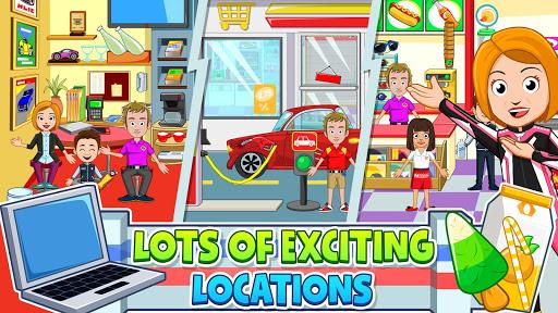 My Town: Car Garage. Wash & Fix kids Car Game  screenshots 8